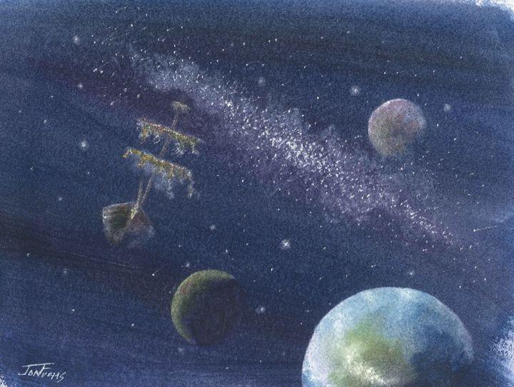 Starship - Jon Fuchs Art