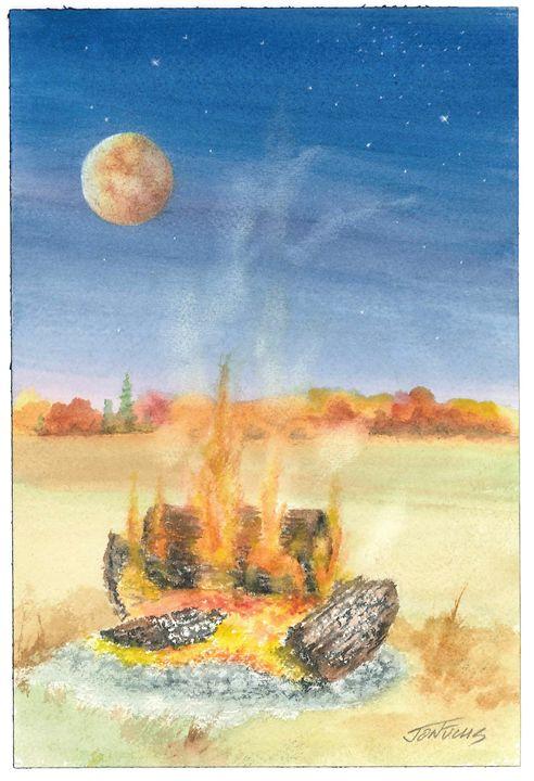 Camp Fire - Jon Fuchs Art