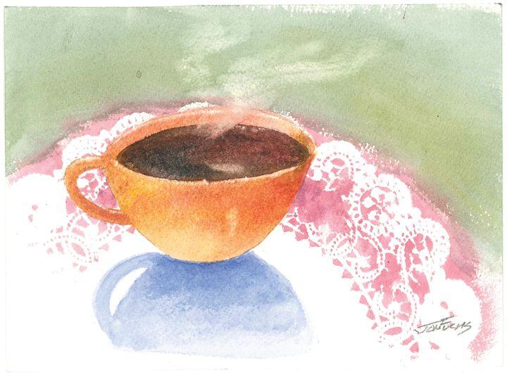 Cup O Tea - Jon Fuchs Art