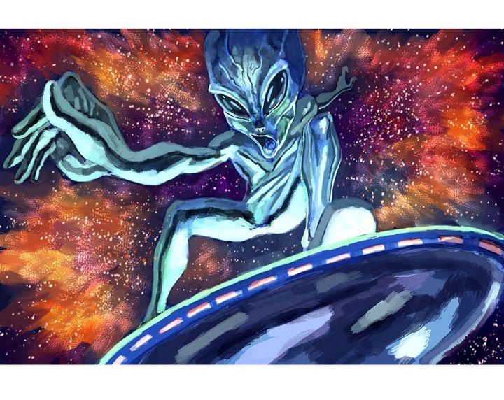 Cosmic Surfer - G funk
