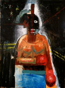 The Boxer Original - Dan Vanderhoof Art