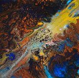 Original Acrylique 29 x 29 cm