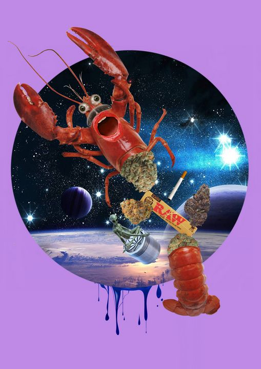 Seafood - The Collage Guy