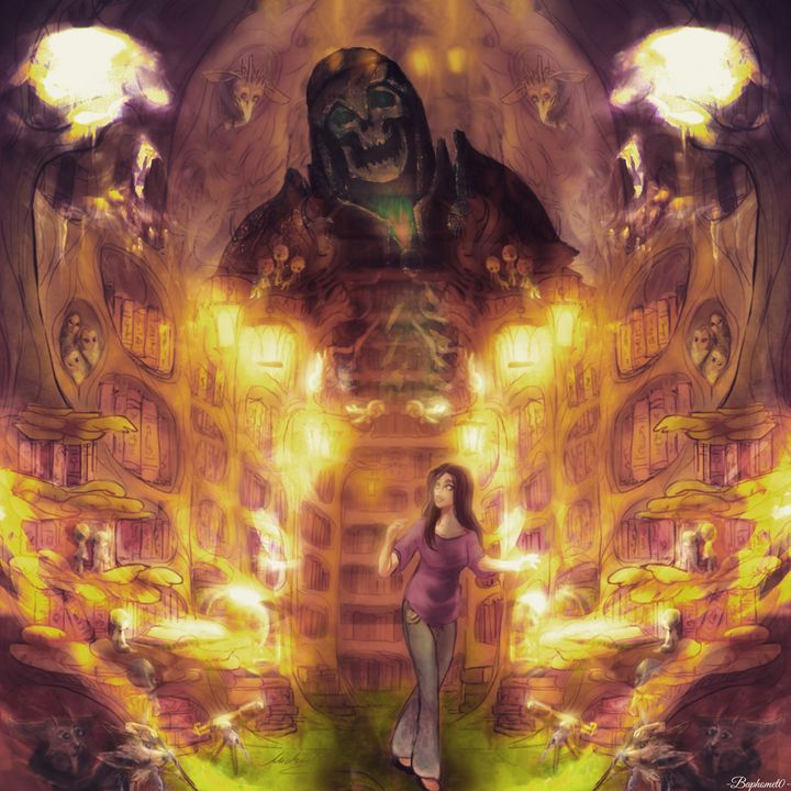 World of imagination - Baphomet0