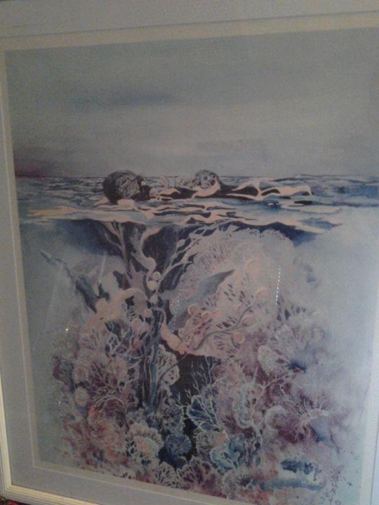 Sea Otters -  Jgabbart