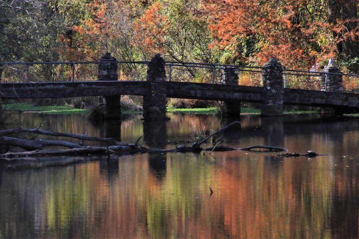 Bridge on Desoto Lake Park Arkansas - Artistic Photos by Terry Baumgartner