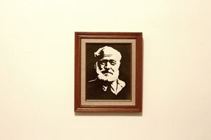 Ernest Hemingway B&W Series Original