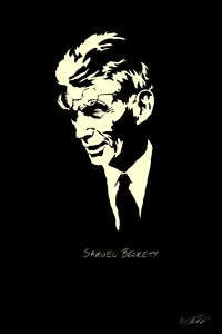Samuel Beckett B&W Series Digitals
