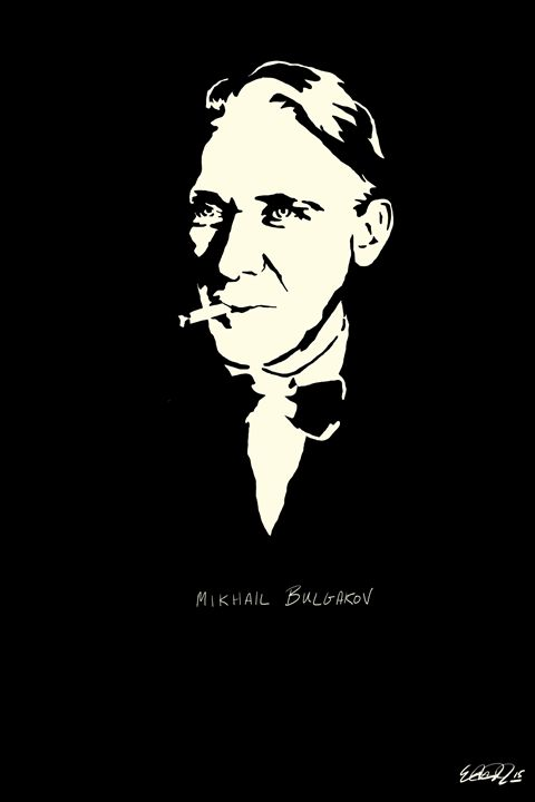 Mikhail Bulgakov B&W Series Digitals - Almost Original MTL