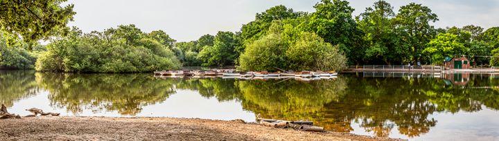 Hollow Ponds Panoramic - FineArtNorfolk