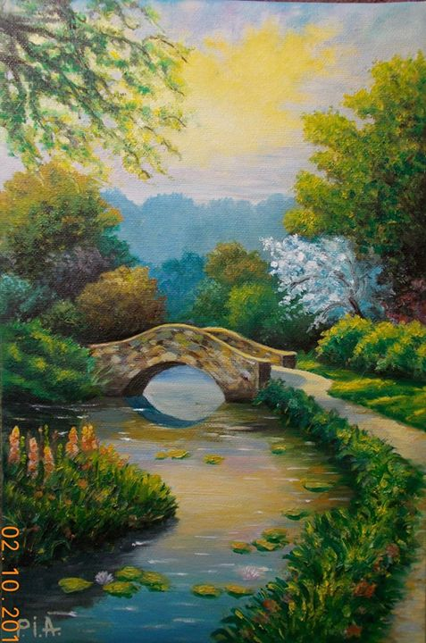 Lonely bridge - MyArtBoutique