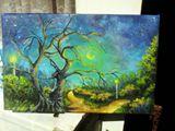 Original painting landscape