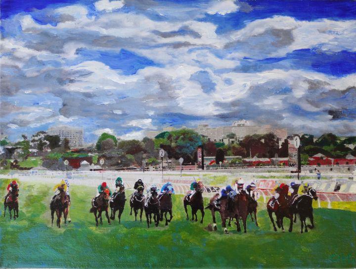 Melbourne Australia Horse Races - Chris Rutledge