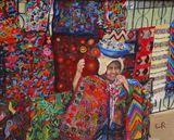 Guatemala Momma Painting