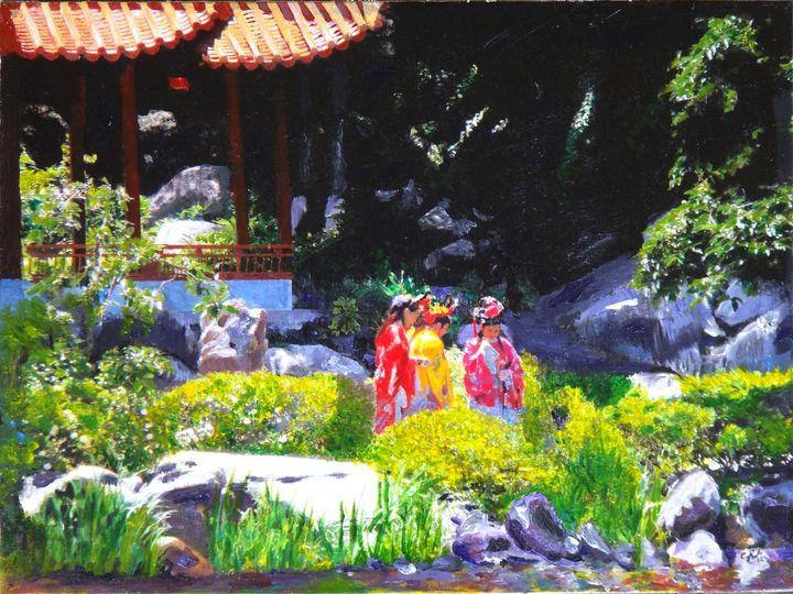 Japanese Zen Garden - Chris Rutledge