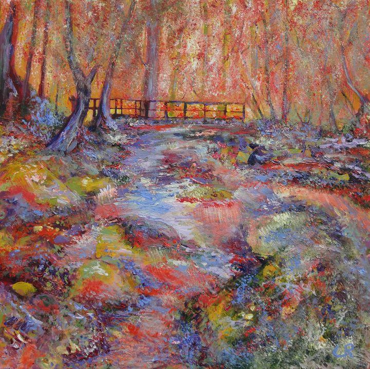 """Boulder Creek Path, Colorado"" - Chris Rutledge"