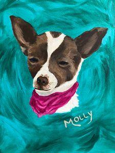 Molly - SJOriginal Paintings