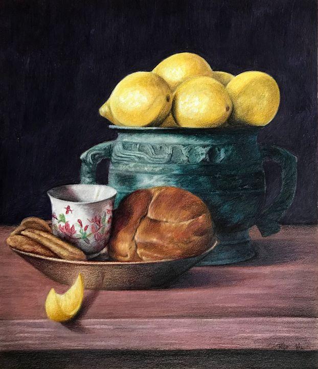 Lemon study - JakeHunterArt