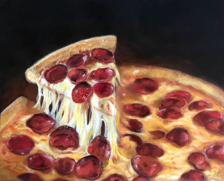 Pepperoni - JakeHunterArt