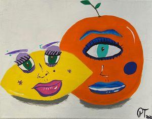 lemon x orange