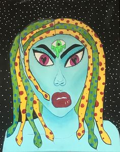 Medusa and her third eye
