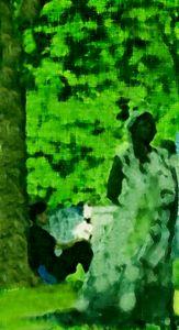 Woman Under Tree - Refuged