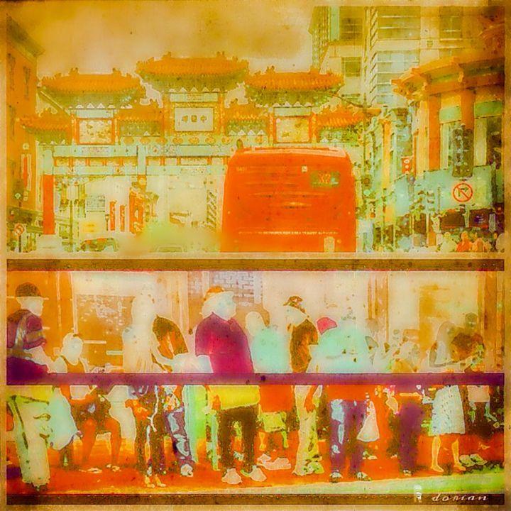 Washington D.C. - Chinatown - Refuged