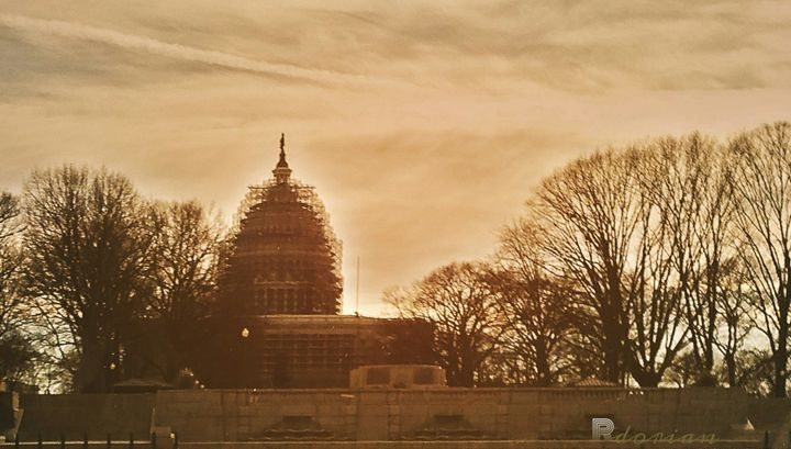 Capitol Building, Under Construction - Refuged
