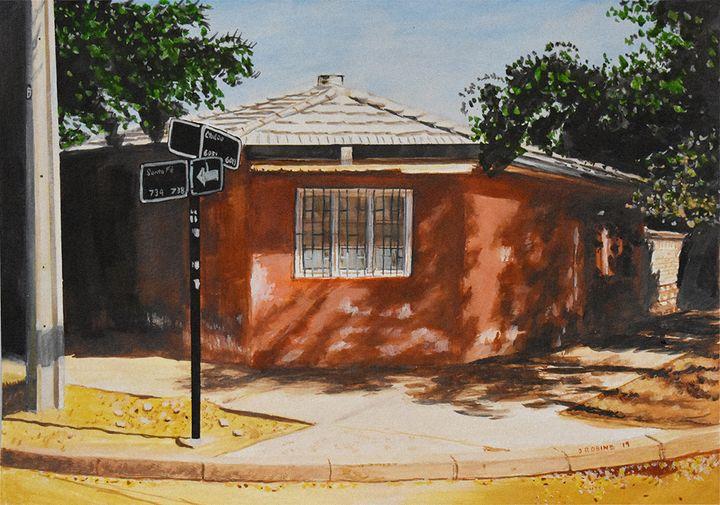 Santa Fe con Chiloe - J. Robin E Art