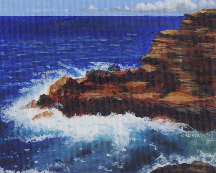 Chilean rocks - J. Robin E Art