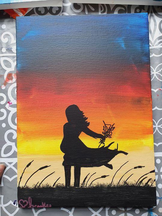in the meadows! - Brooke's Paintings
