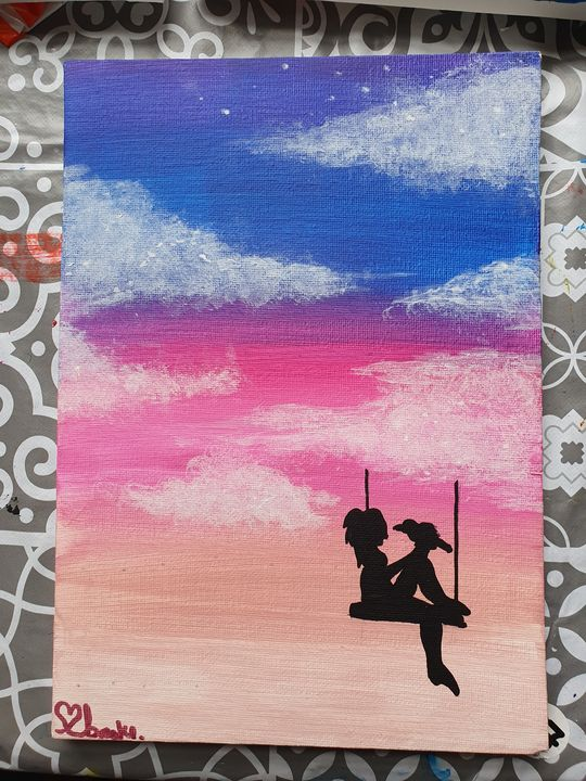 In The Clouds - Brooke's Paintings