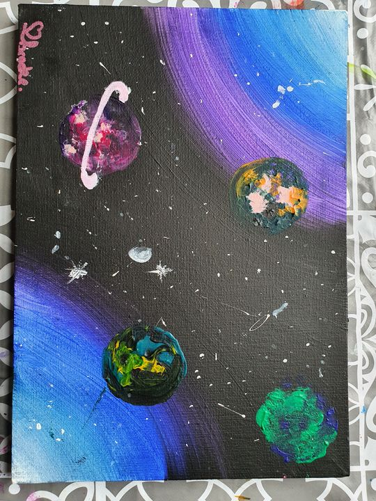 outer space - Brooke's Paintings