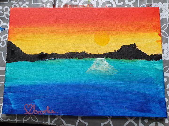 in the seas - Brooke's Paintings