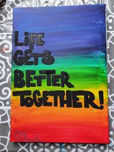 LGBT+ Community Painting