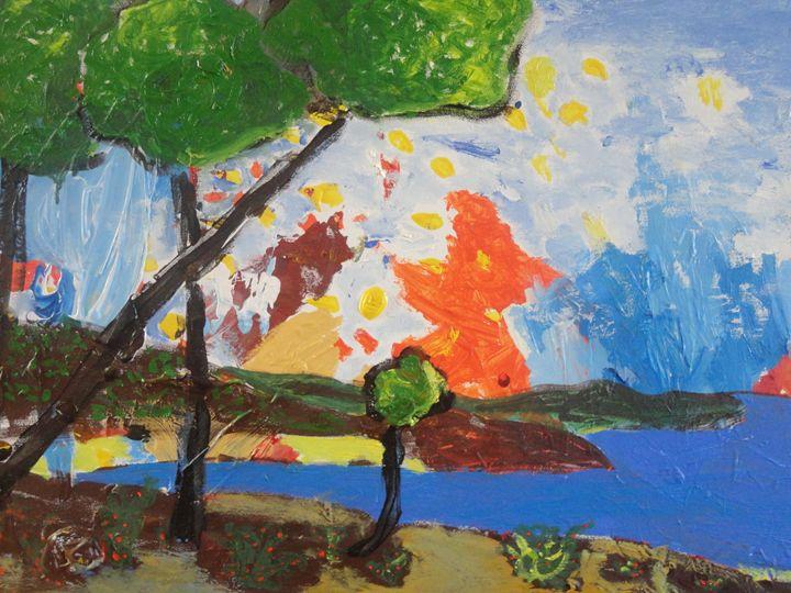 Summertime - Roger Sunyer