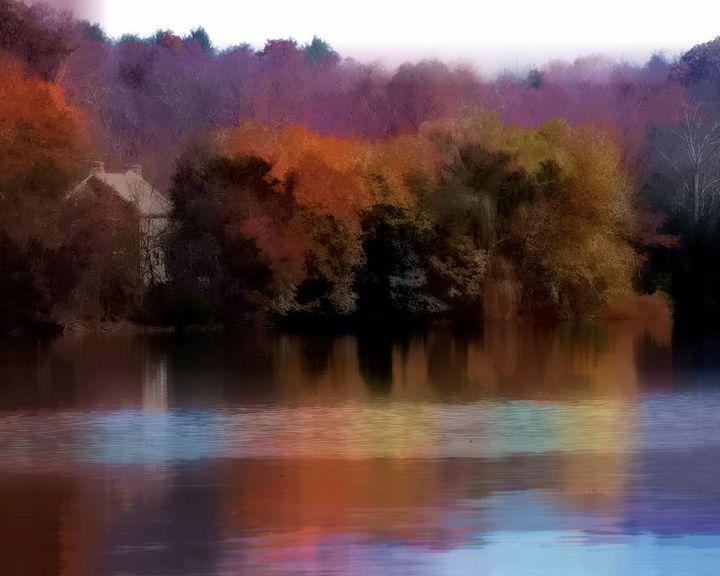 Early Fall Lake - johnny-3