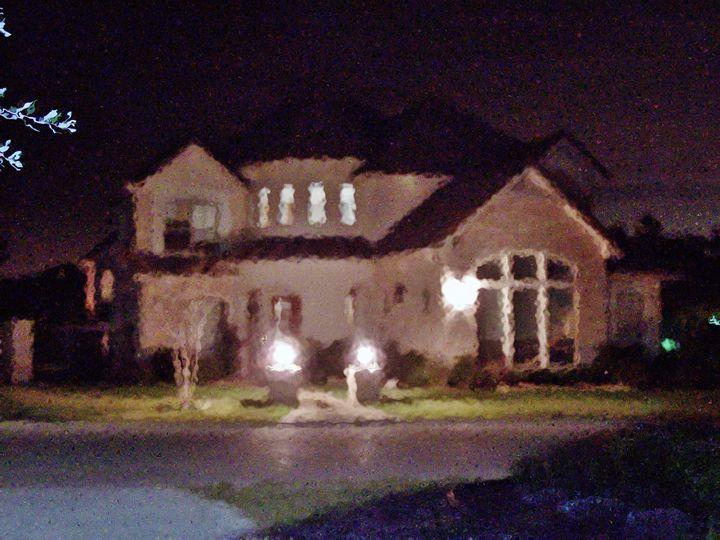 A house at night - Strange World