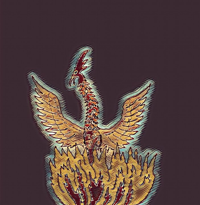 Phoenix bird - Strange World