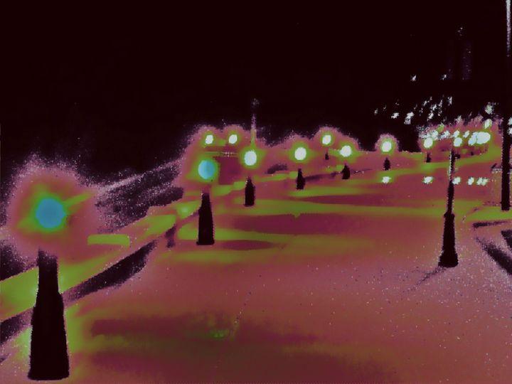 night scene - Strange World