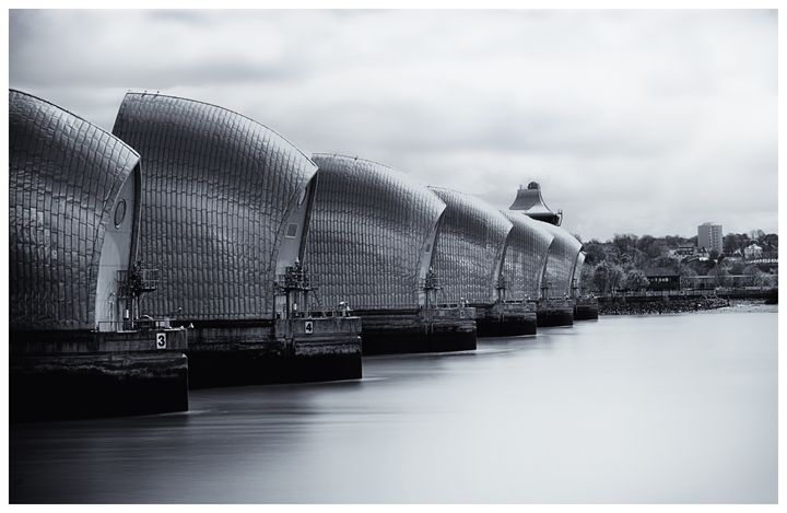 Thames Barrier - Luis Martin Photography