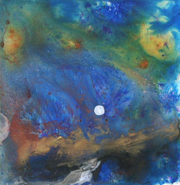 Moon Rise From Space - Kara English
