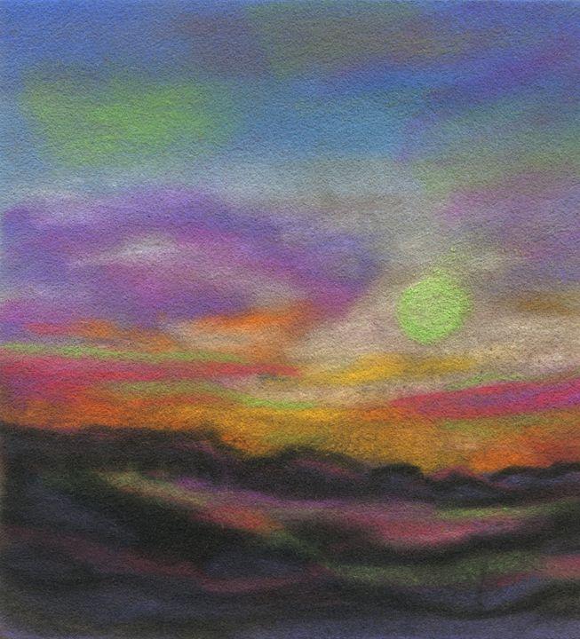Moon Struck in the Desert - Kara English