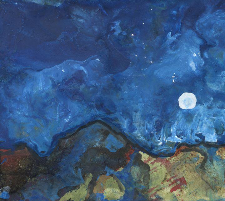 Picacho Peak Moon - Kara English
