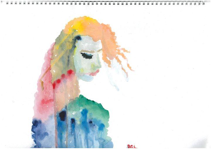 The Lady - RenaRaj Arts