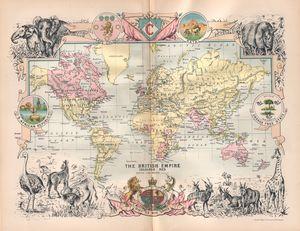 The British Empire - 1895