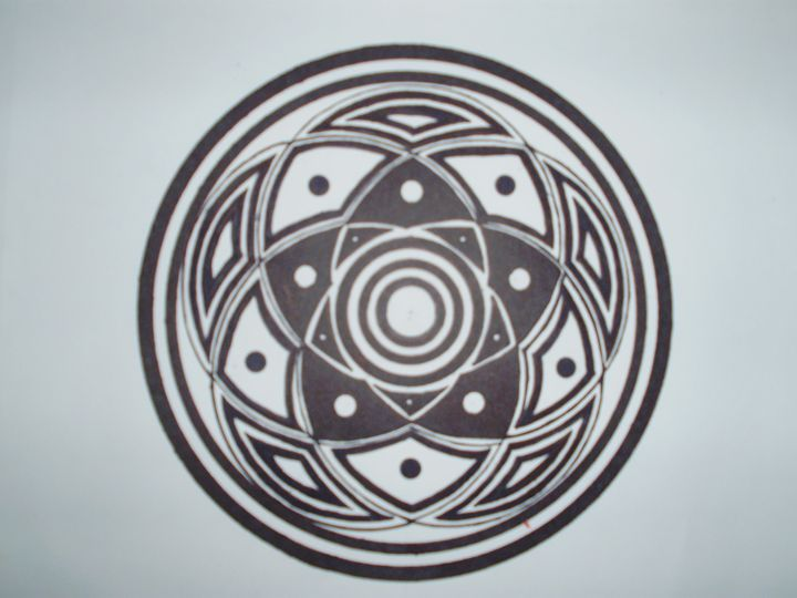 5 circles in harmony drawing - nathan