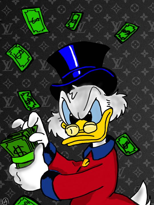 Picsou/ Scrooge McDuck LV - Artsirsky