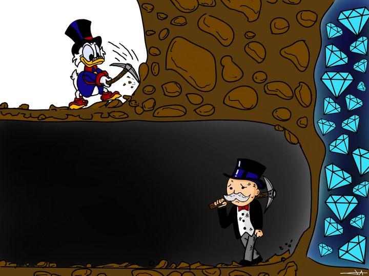 Monopoly and picsou mining - Artsirsky