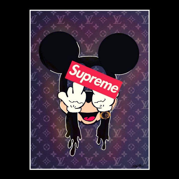 Supreme Mickey Mouse - Artsirsky